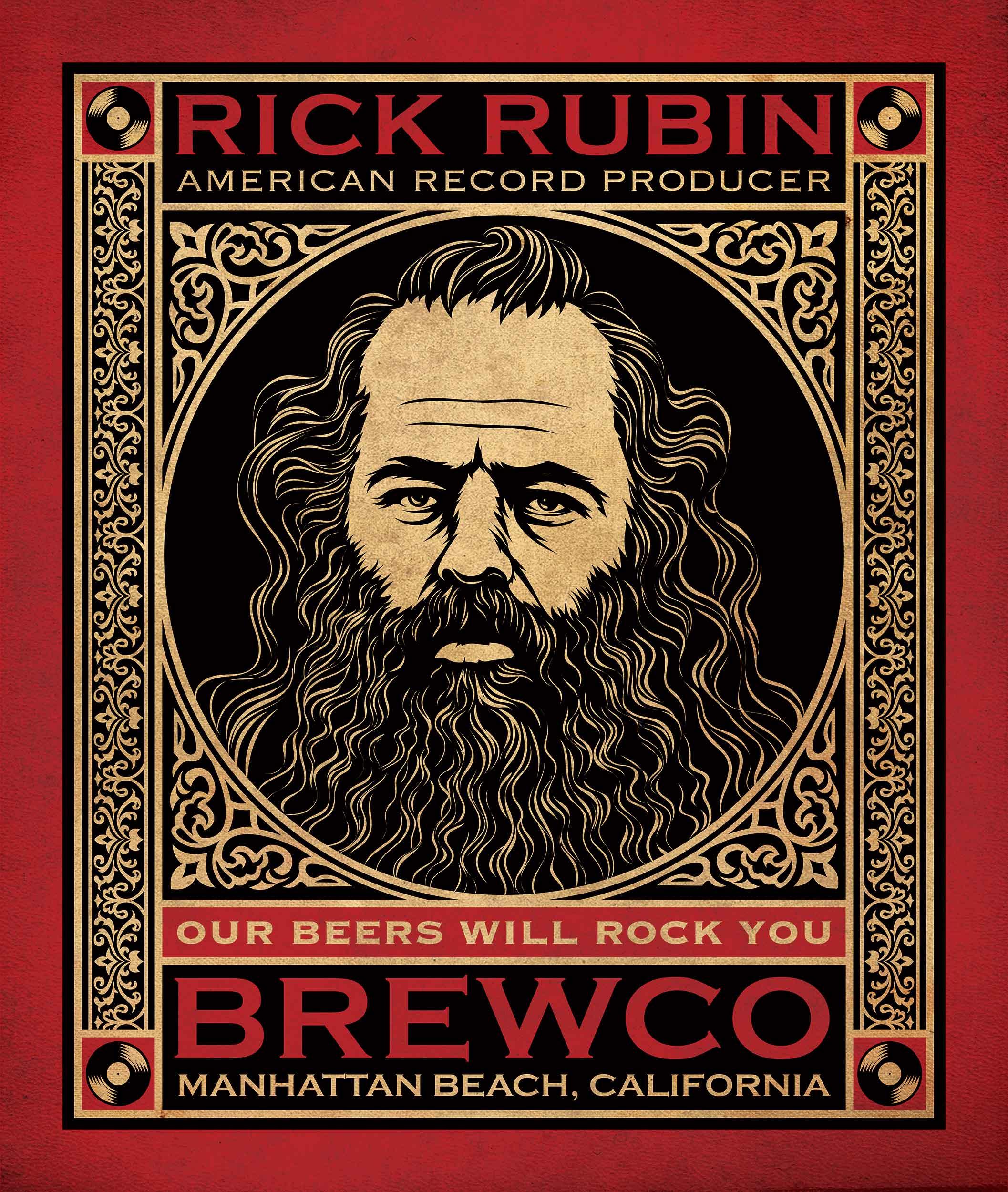 Brewco Rick Rubin art