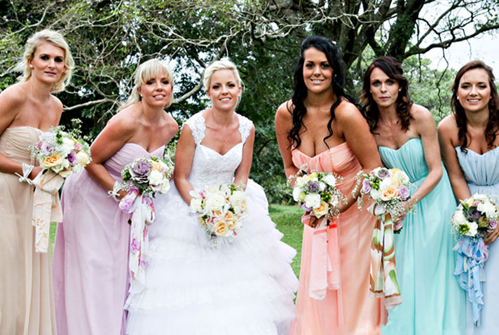 WHAT YOUR PRIMARY WEDDING COLOR SAYS ABOUT YOU