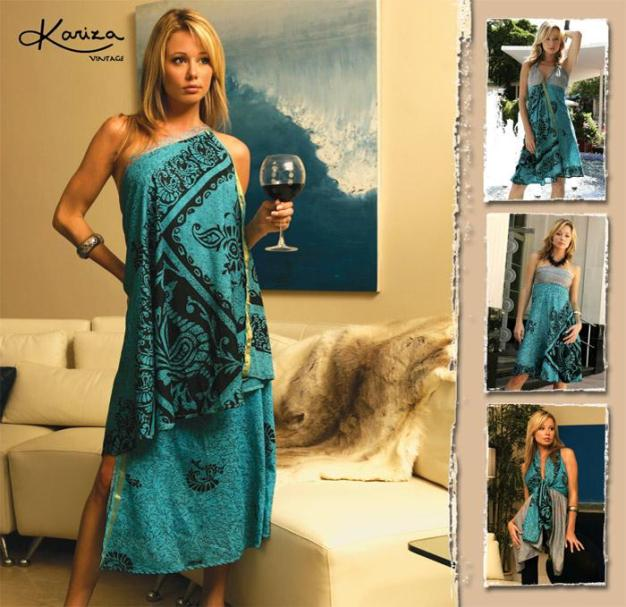 Kariza Wrap Dress, 100 ways to wear 1 Item
