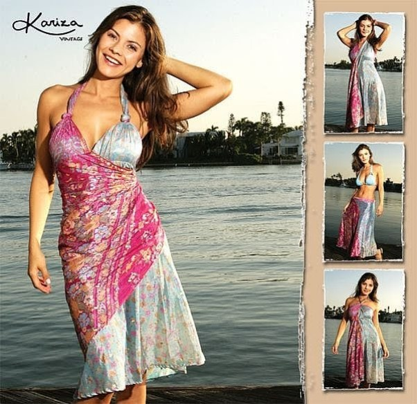 Kariza Wrap Dress Options for Wear