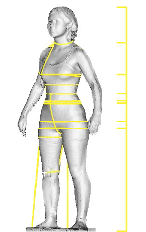 Explore Cornell - The 3D Body Scanner - Made-to-Measure - Automated