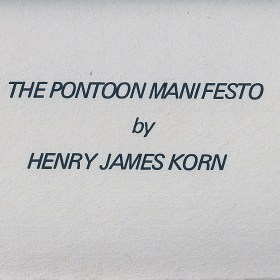 Pontoon Manifesto - Deck of Cards