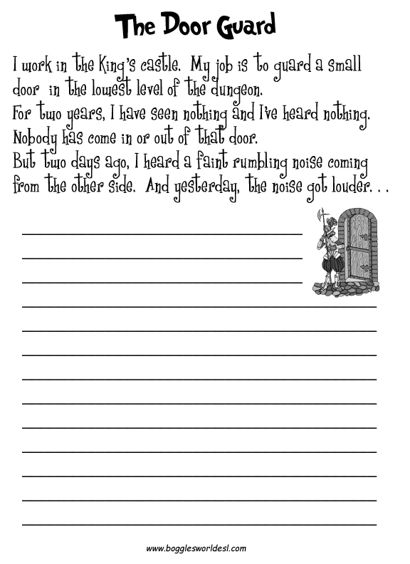 Custom essay writing worksheets for 5 grade