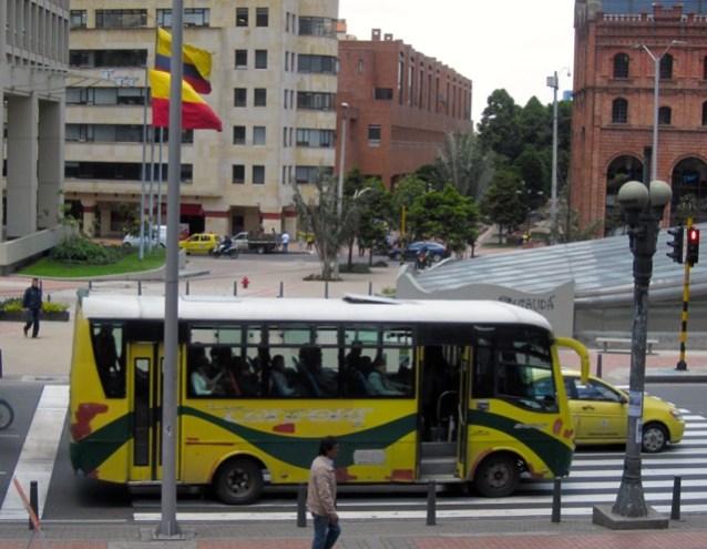 private bus bogota
