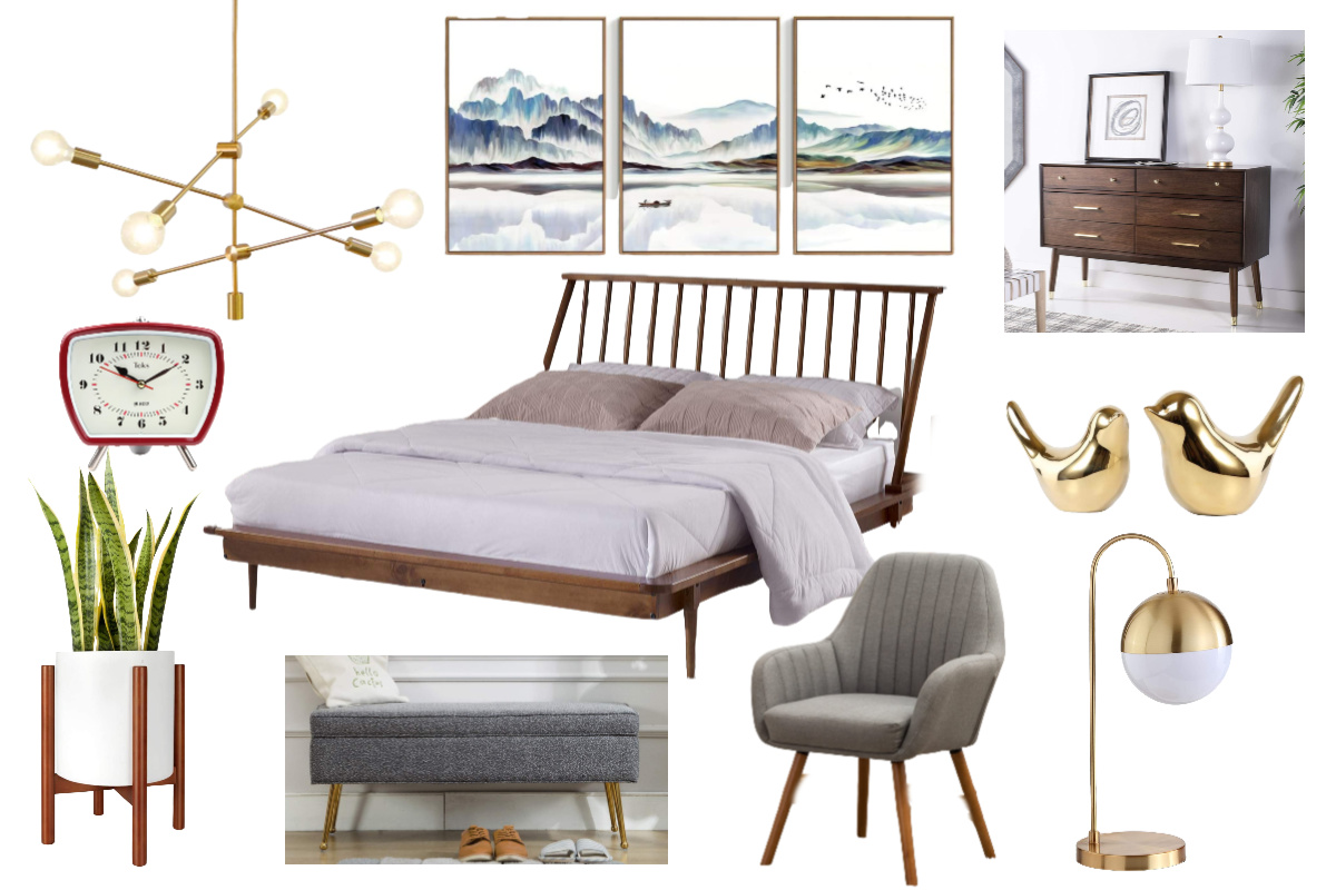29 Gorgeous Mid Century Modern Bedroom Decor Ideas