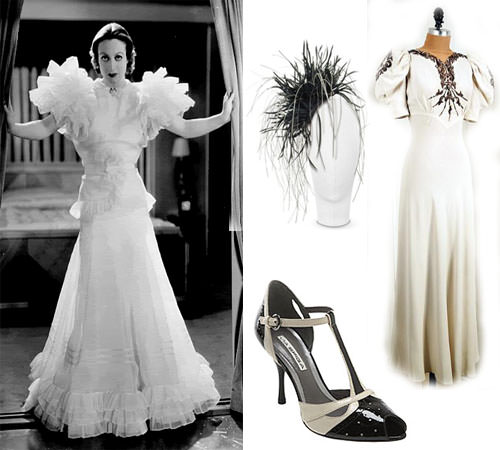 Faye Decoration Bridal Style: Going Vintage – 30′s Inspired Styling That