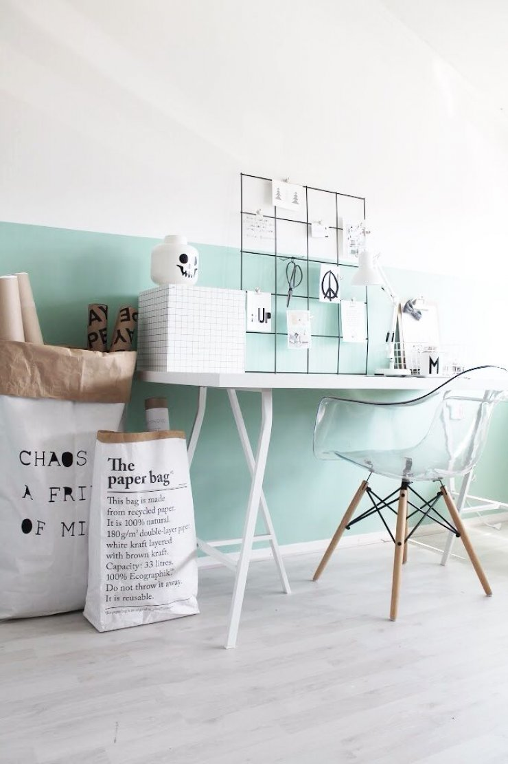 Decorar Pared Porche Decorar Con El Color Mint Bohochicstylebohochicstyle