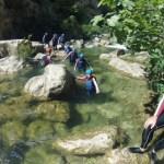 Boho travel art canyoning basic level