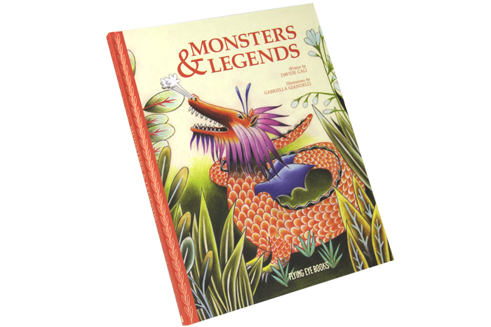 monsters and legends kids monster book now in the usa