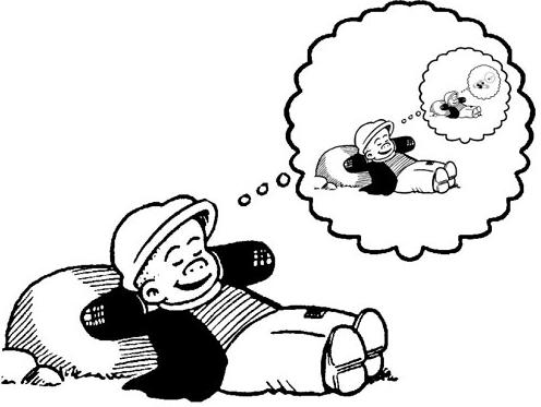 Sluggo dreaming