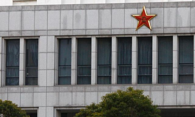 The Unit 61398 building in Shanghai that Washington says is the origin of attacks on American computer systems. Photograph: Carlos Barria/Reuters