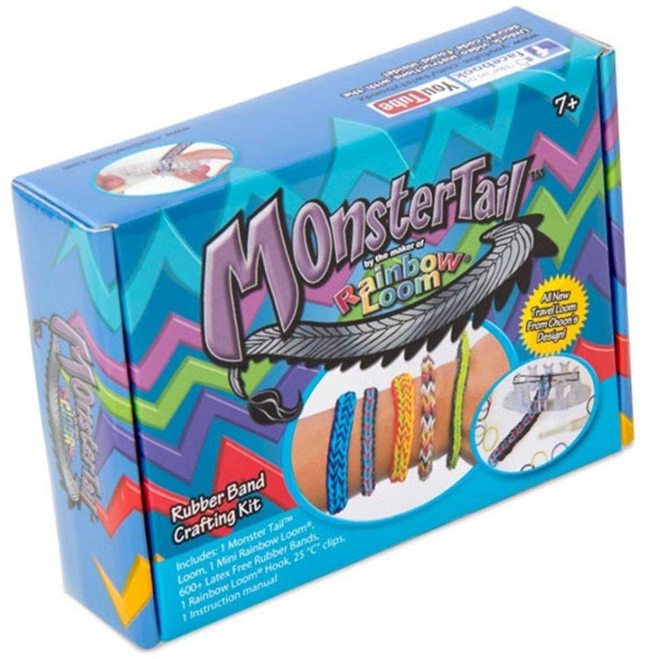 Monster Tail Mini Loom Bracelet