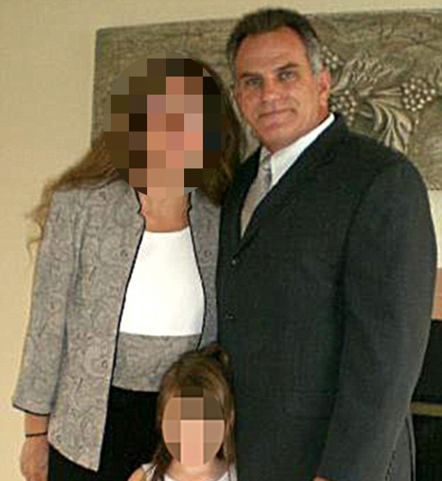 From Facebook, a photo identified as Hristovski with his family.