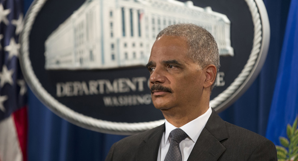 Eric Holder. Photo: Reuters