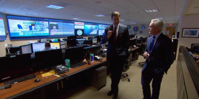 FBI Director James Comey speaks with Scott Pelley.