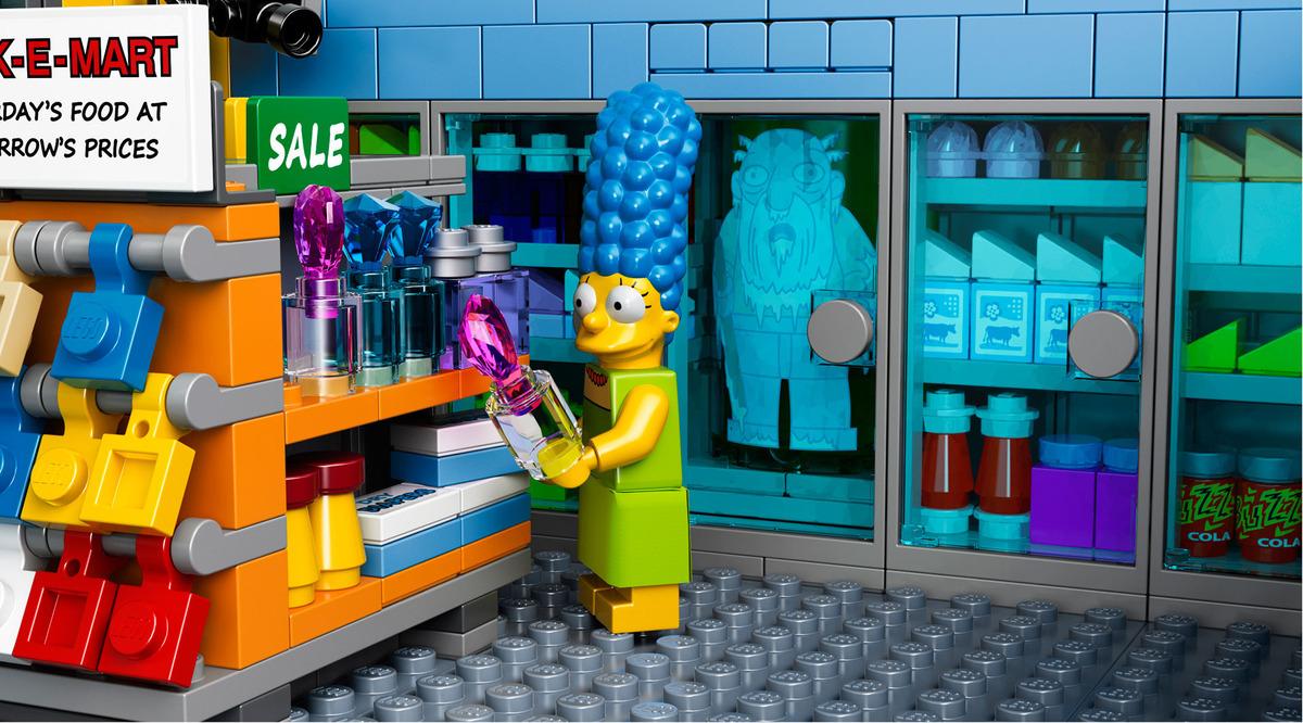 Lego Simpsons  The Kwik E Mart Building Kit
