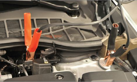 How To Jump Start The 2012 Chevrolet Volt Peterson Chevrolet Buick