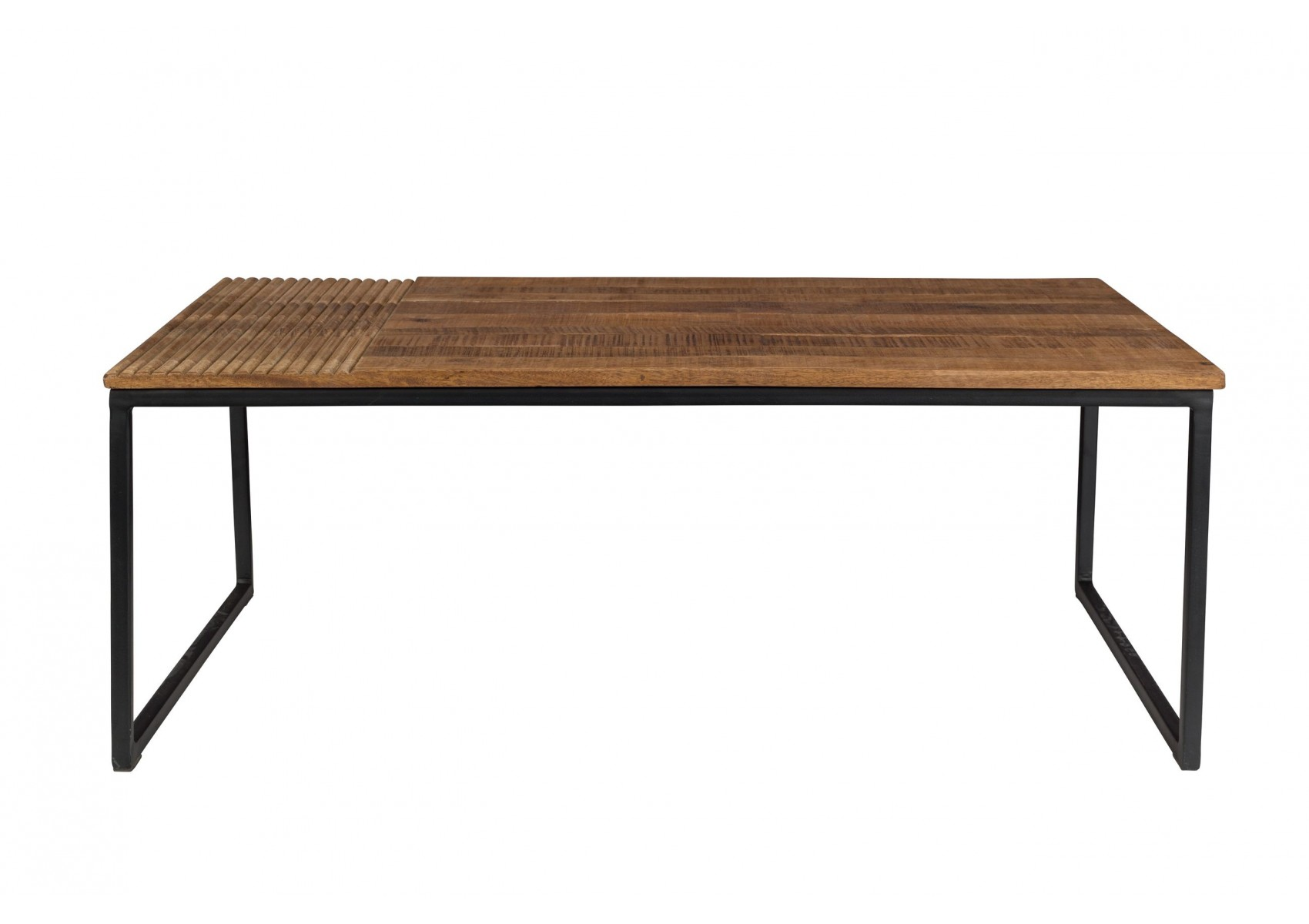 Table Basse Bois Industrielle Table Basse Industrielle Randi Par Dutchbone