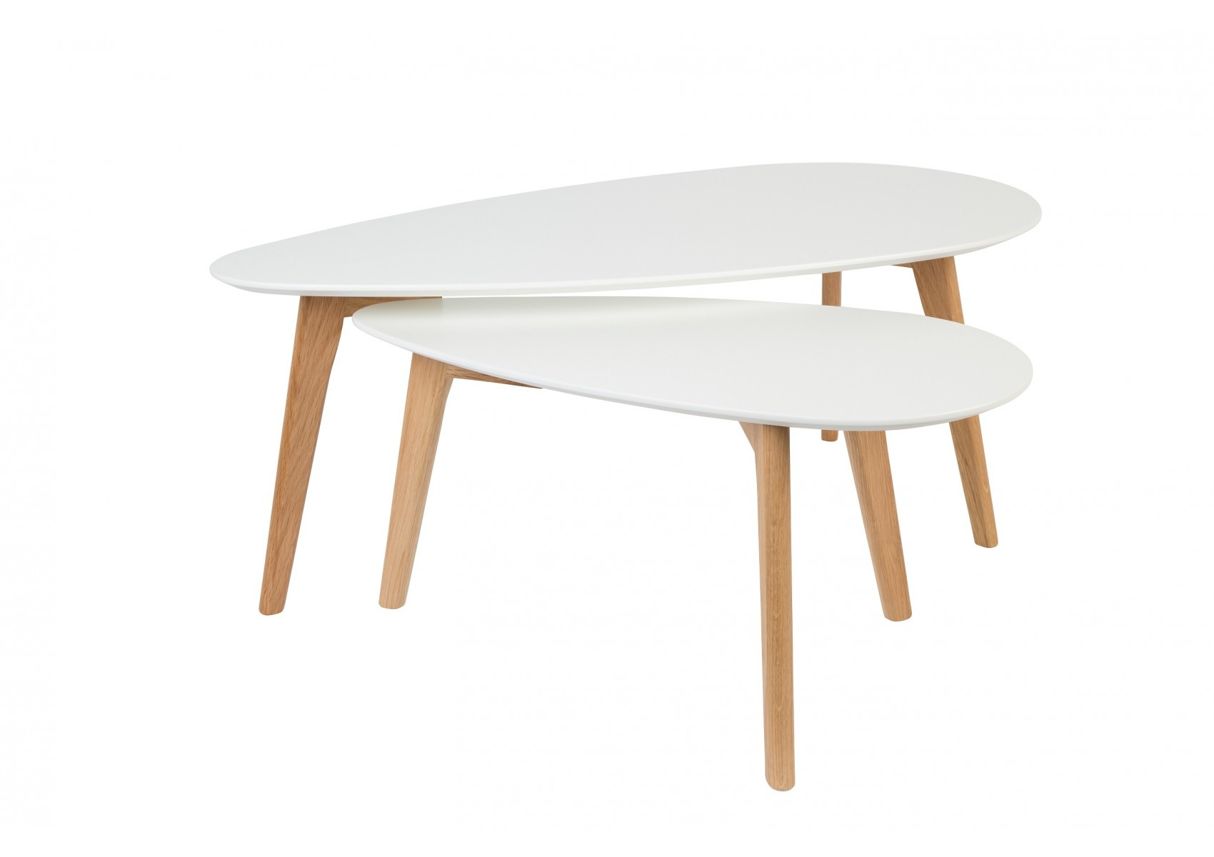 Table Basse Scandinave Blanche Tables Basse Scandinave Drop Laquée Blanche