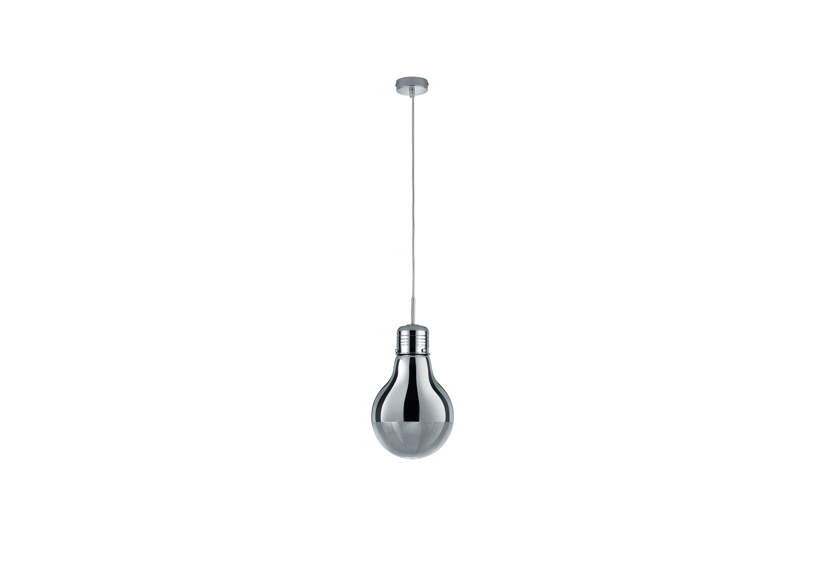 Grande Suspension Luminaire Grande Suspension Design Edison Ampoule Chromé Boite à
