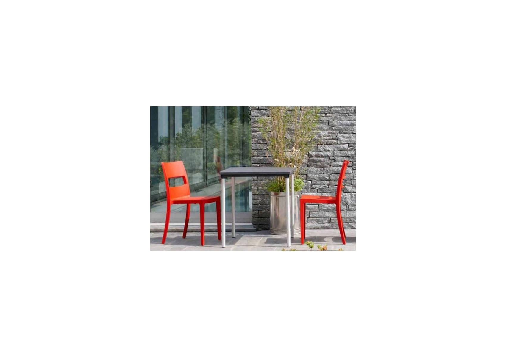 Destockage Chaise De Jardin 4 Chaises Design Sai Orange Destockage Boite à Design