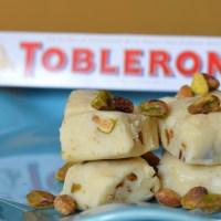 White Chocolate Toblerone Fudge
