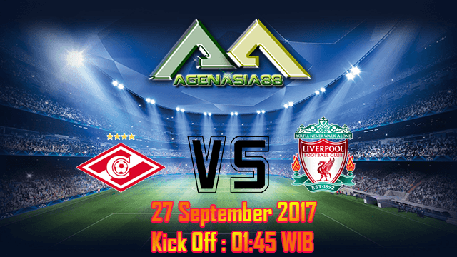 Prediksi Spartak Moskva Vs Liverpool 27 September 2017