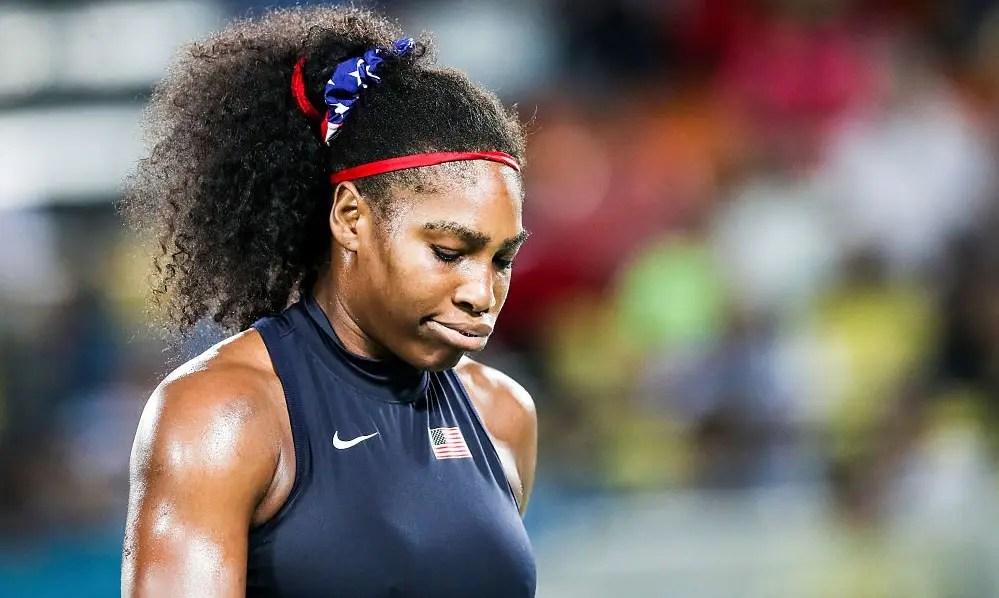 Serena vacila e é eliminada nas oitavas de final no Rio