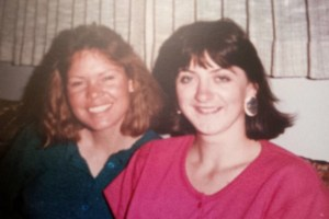 Ann and Lynn in 1989