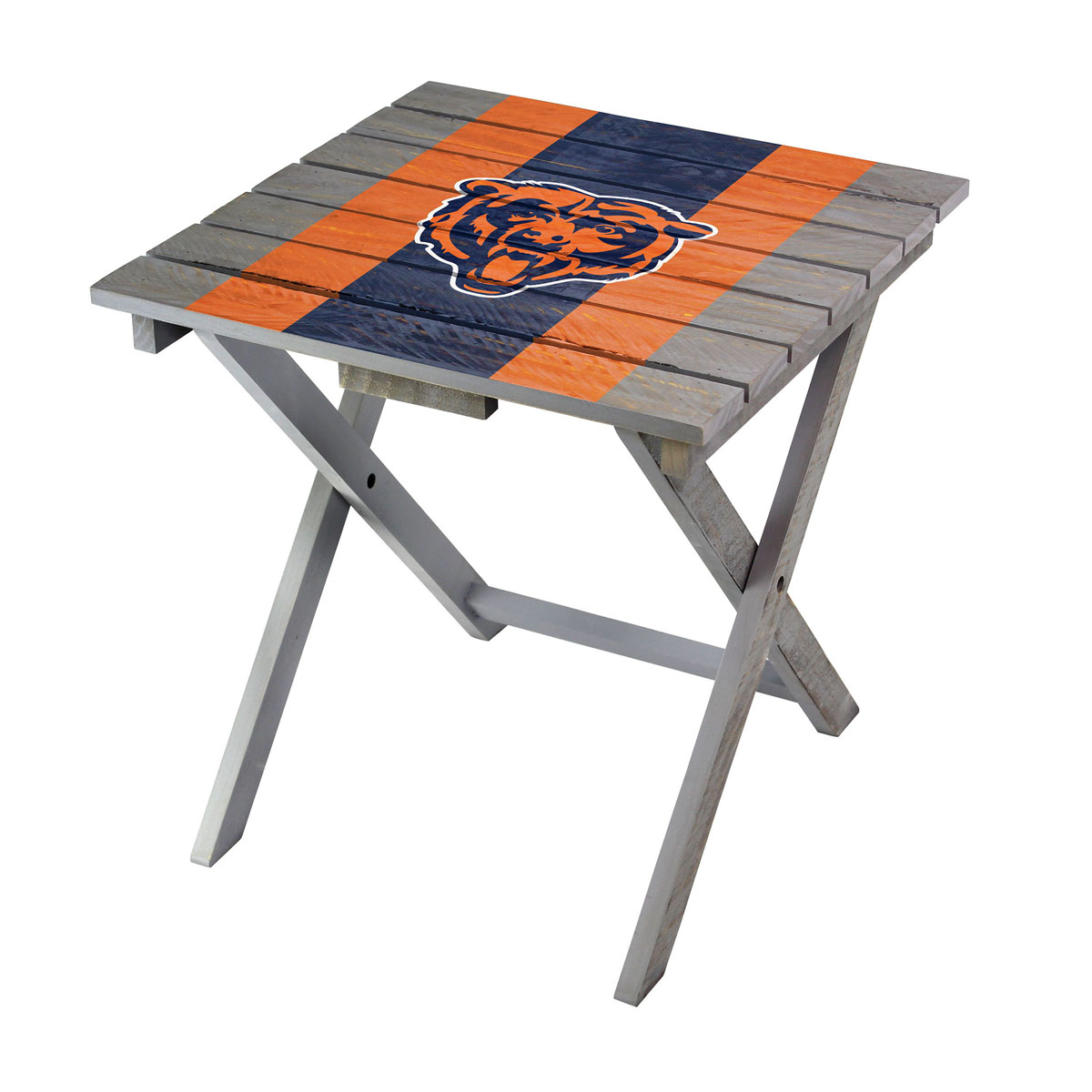 Nfl Chicago Bears Folding Adirondack Table 544 1019 Area Rug Free Shipping