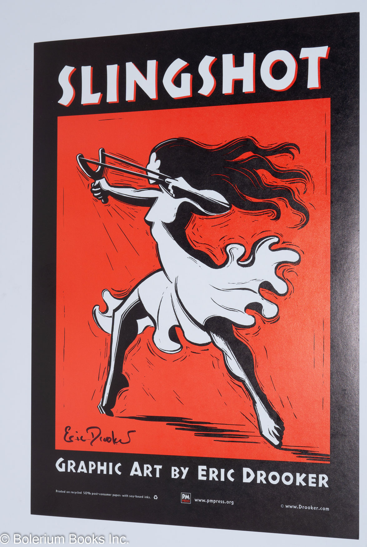 Art Of Eric Drooker Slingshot Poster By Eric Drooker On Bolerium Books