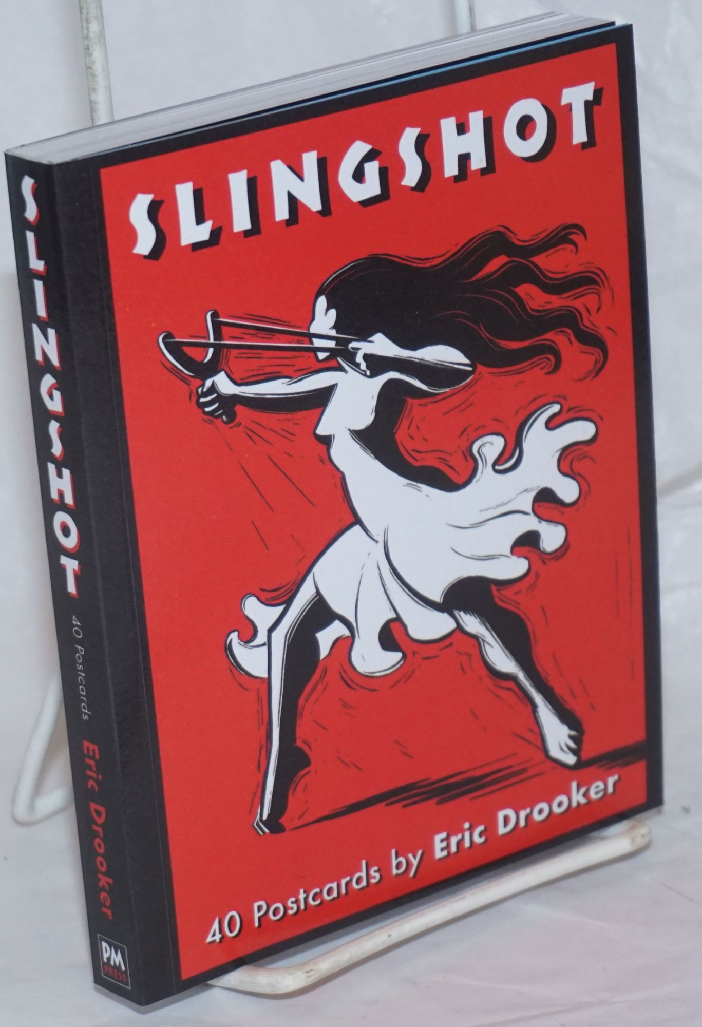 Art Of Eric Drooker Slingshot 40 Postcards By Eric Drooker By Eric Drooker On Bolerium Books