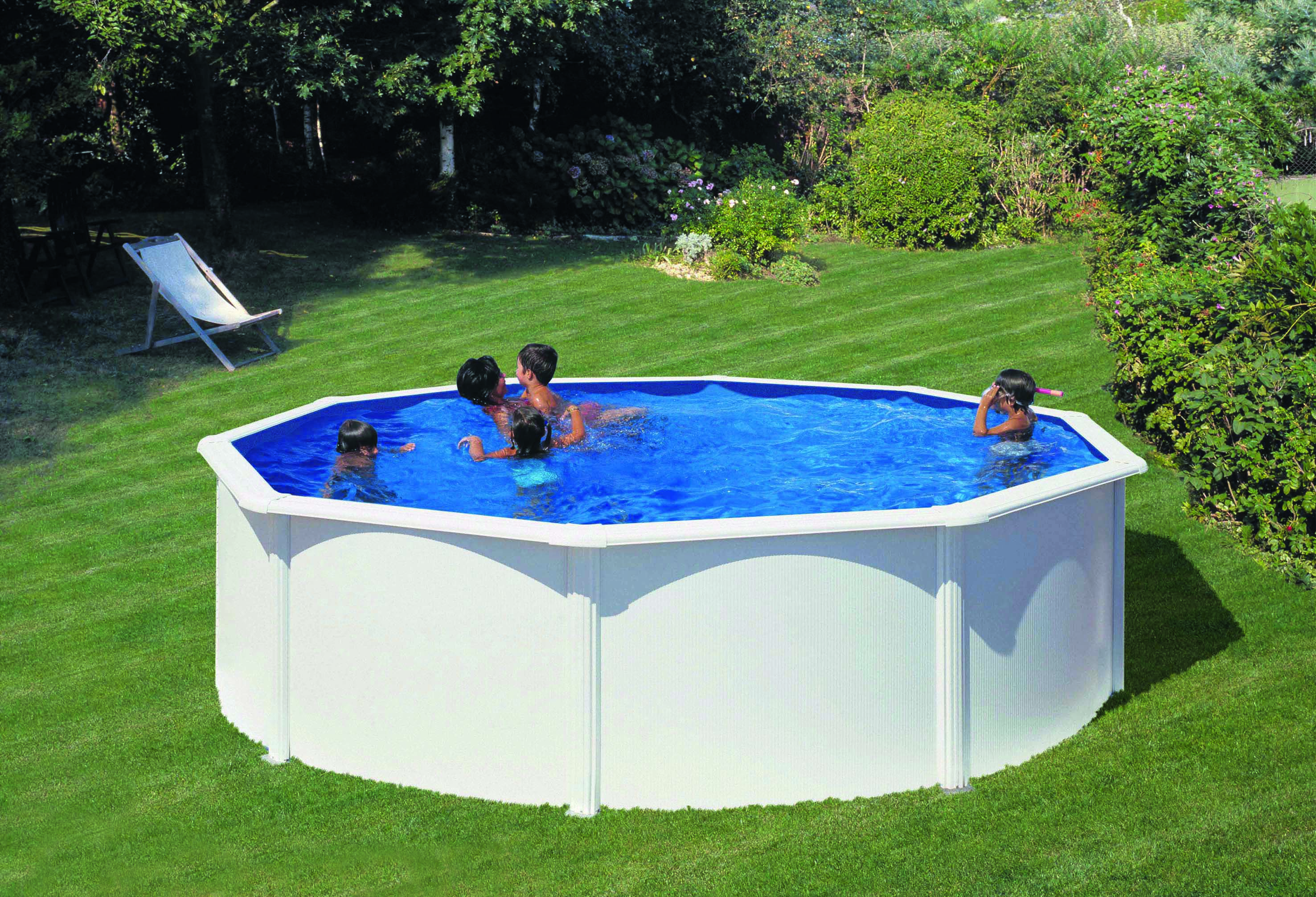 Pool Liner Rund Poolset Classic Rund Clear Pool Kompletta Pooler Bolist