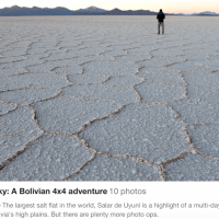 Salt, sand, sky: A Bolivian 4x4 adventure