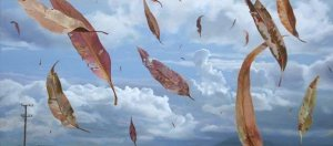 vento folhas