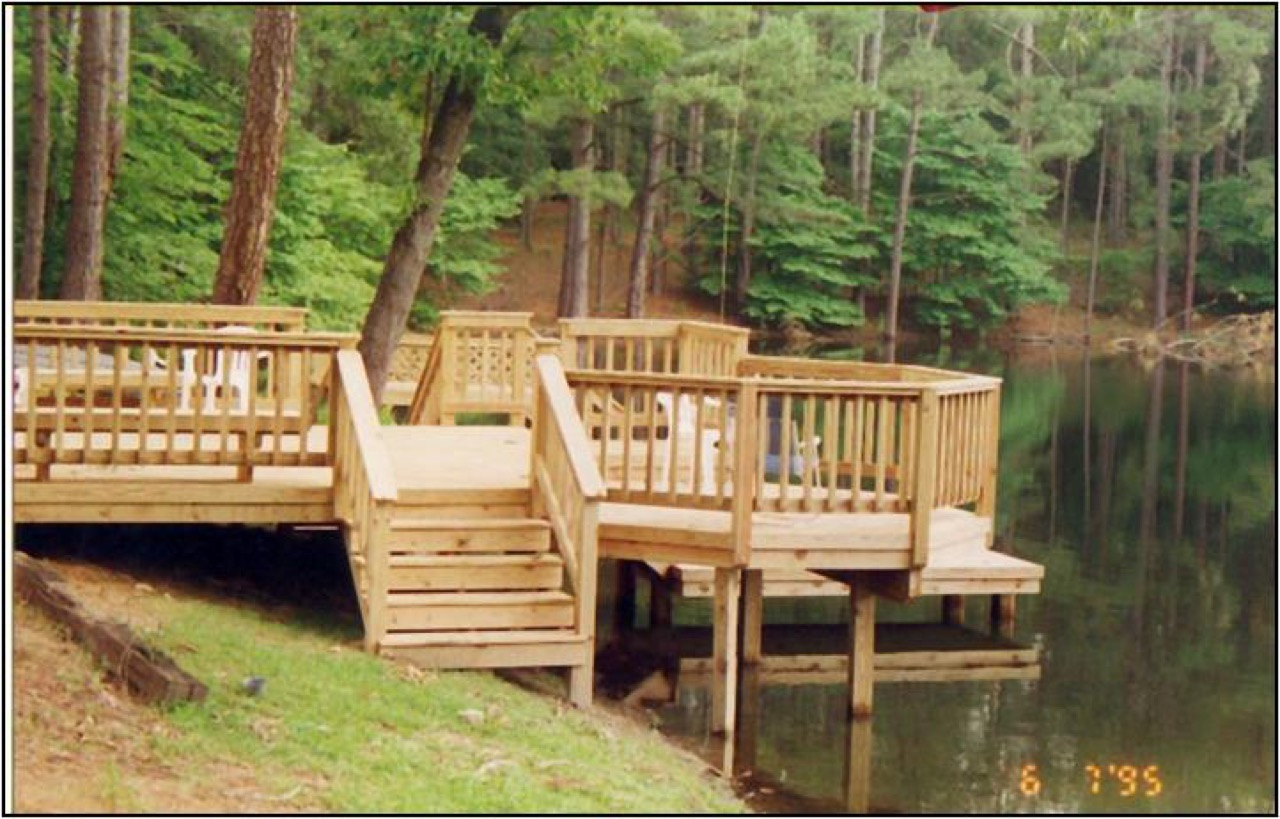 Dock Furniture Ideas Macon And Warner Robins Deck Builder Archadeck Outdoor