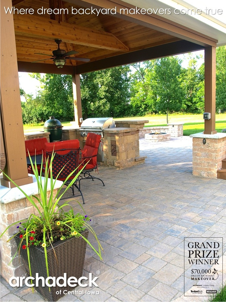 Houzz Advertising Dream Backyard Makeover Project | Archadeck Outdoor Living