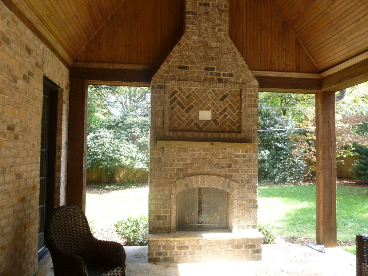 Outdoor Gas Fireplaces Raleigh Durham Outdoor Fireplace Builder