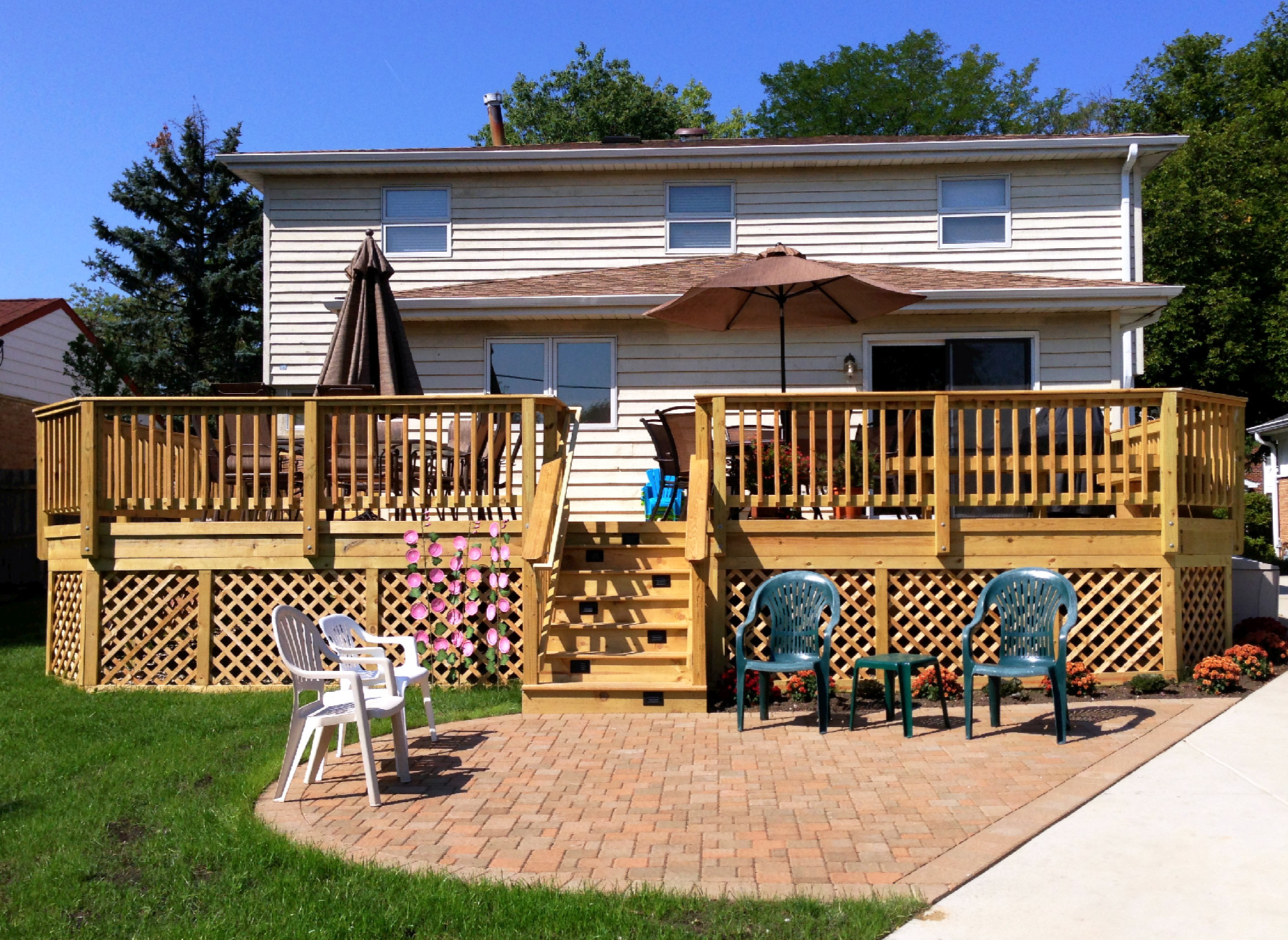 Deck Cost Deck Cost What Does A New Deck Cost To Build Nj Top Deck