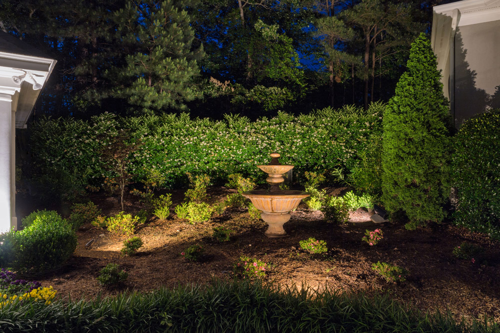 Professional Asheville Garden Lighting Services