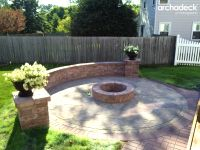 Archadeck Fires up Your Backyard Patio with Firepit ...
