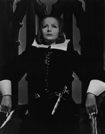 Greta Garbo as Queen Christina