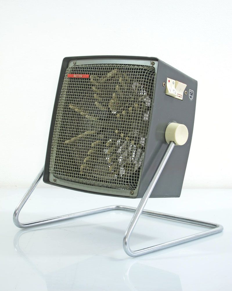 Vintage Looking Fan Philips Designed Vintage Fifties Heater With Fan