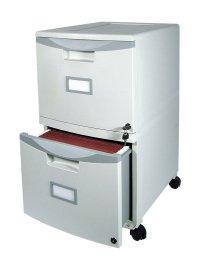 2 Drawer Home Small Office File Mobile Filing Locking ...