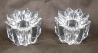 Mikasa Comet Candle Holders 1 pair Austrian crystal NIB ...