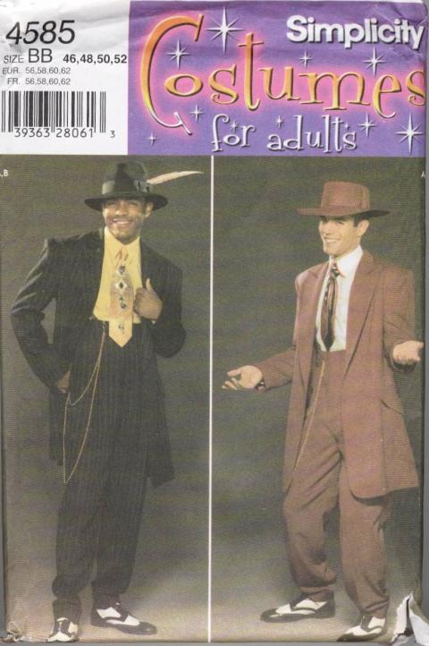 Revuclaintjpgjpg Sewing Pattern Zoot Suit