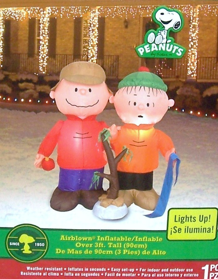 charlie brown christmas outdoor decorations - Datastash - peanuts outdoor christmas decorations