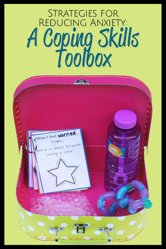 Kids Tool Box Strategies For Reducing Anxiety: A Coping Skills Toolbox