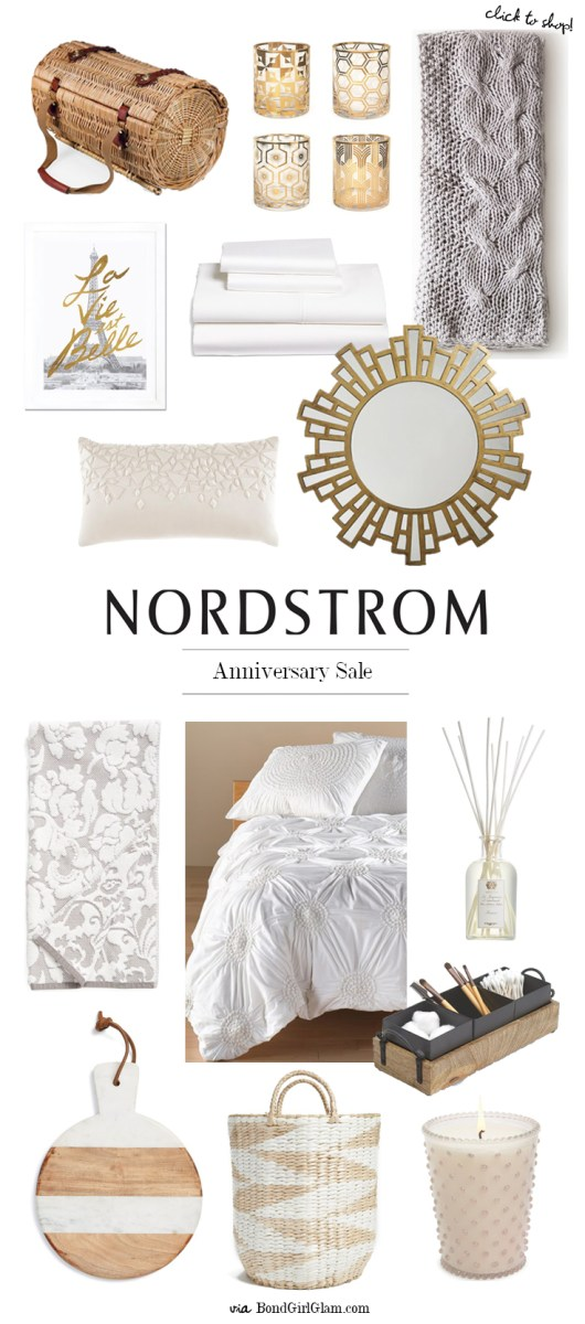 Nordstrom early access anniversary sale home d cor Nordstrom home decor sale