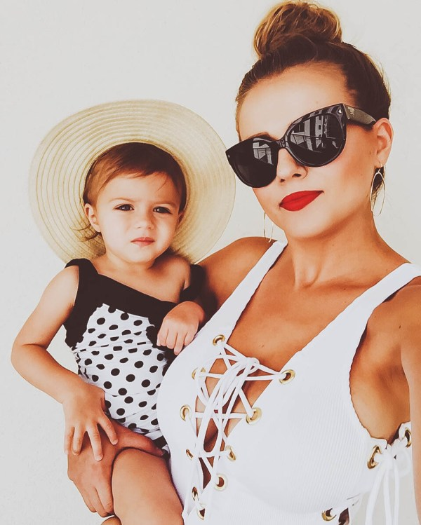 Favorite Swimsuits for Mom & Baby | BondGirlGlam.com